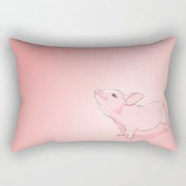 Little Pig Rectangular Pillow