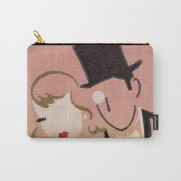 Art Deco Glamour Couple Vintage Art Carry-All Pouch