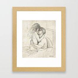 Just Us Tonight Framed Art Print