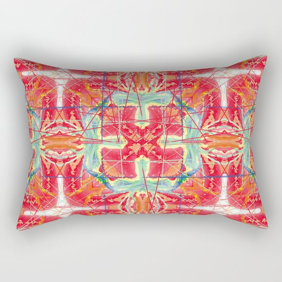 tomato dream Rectangular Pillow