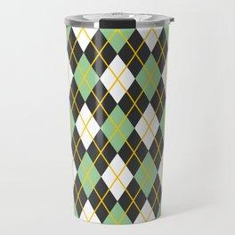 Argyle pattern Travel Mug