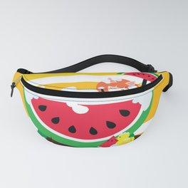 Watermelon Bath Fanny Pack
