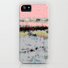 Lights of nature iPhone Case