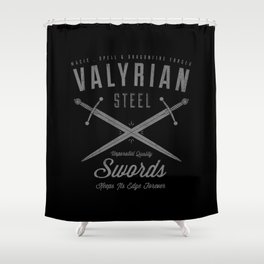 Magic, Spell & Dragonfire Forged Shower Curtain