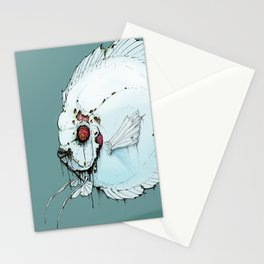 Zombie Discus Stationery Cards