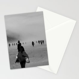 Disappear Into the Fog Stationery Cards