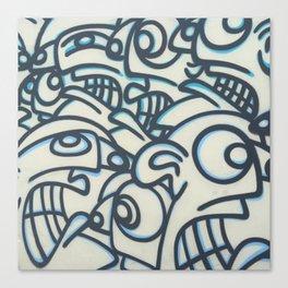Graffiti Art in Wynwood Canvas Print