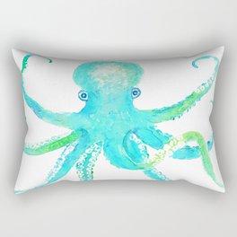 Tropical Octopus Rectangular Pillow