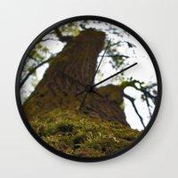 moss Wall Clocks featuring Moss by Kallian