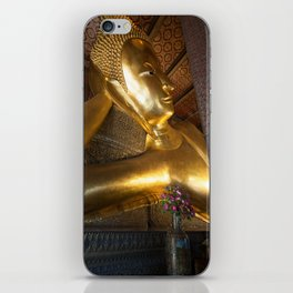 Reclining Buddha in Bangkok iPhone Skin