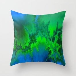 Dropped Out Throw Pillow