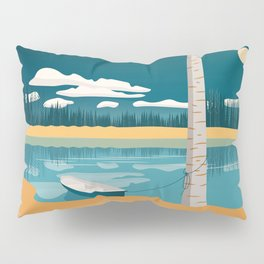 By the lake Pillow Sham