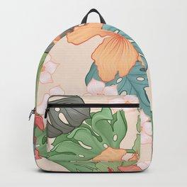 Sweet Pink Blooms Backpack