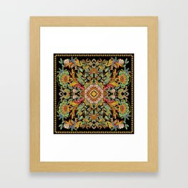 Dance Between Fire Now! Framed Art Print