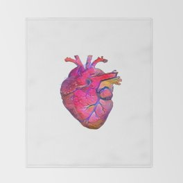 ALTERED Anatomical Heart Throw Blanket