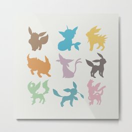 Eeveelution Metal Print