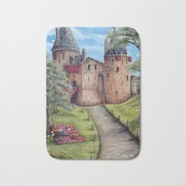 Castell Coch (Red Castle) - Spring Bath Mat