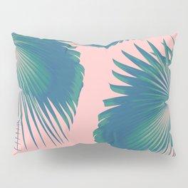Fan Palm Leaves Paradise #10 #tropical #decor #art #society6 Pillow Sham