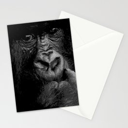 Silver Back Stationery Cards