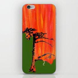 Tree on Fire iPhone Skin