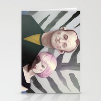 lost in translation Stationery Cards featuring Lost in translation  by Maripili
