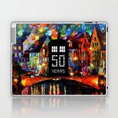 Tardis fifty Laptop & iPad Skin