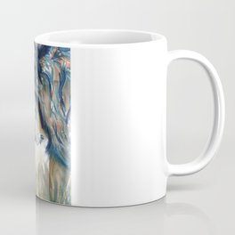 Watercolor Lion and Lioness Coffee Mug
