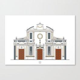 Iglesia de San Francisco Canvas Print