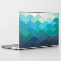 teal Laptop & iPad Skins featuring Teal by Julia Alison