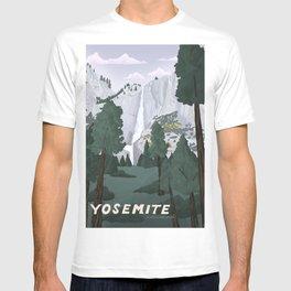 Yosemite National Park, Yosemite Falls, Waterfall, California Parks T-shirt