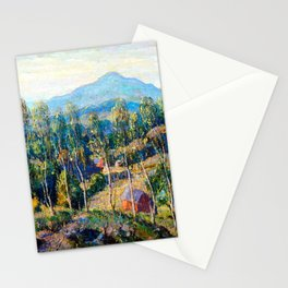 Ernest Lawson New England Birches Stationery Cards