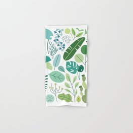 Botanical Chart Hand & Bath Towel