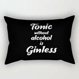 Gin Tonic Matters Rectangular Pillow