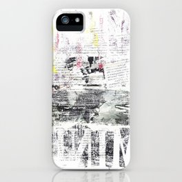 Mind Your Manners iPhone Case