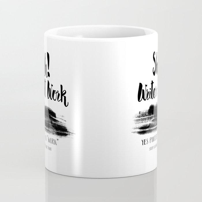 Writer At Work Coffee Mug