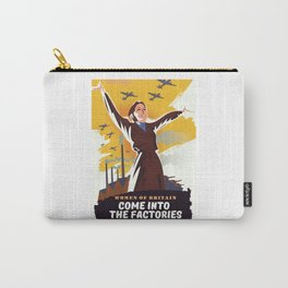 Come into the Factories Carry-All Pouch