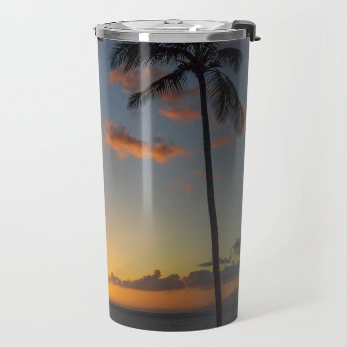 Hawaiian sunset Travel Mug