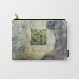 multi exposure clock  2 Carry-All Pouch