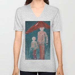 Under My Care Unisex V-Neck