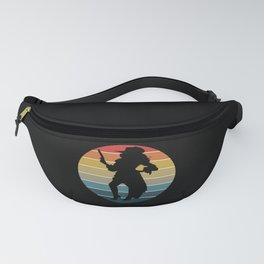 Pirate Mom Skull Corsair Captain Outfit Fanny Pack