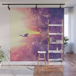 Color diving Wall Mural