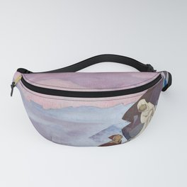 She who leads - Nicholas Roerich Fanny Pack