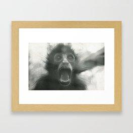 AAAAAAAHHHHHHHHH!!!! Framed Art Print