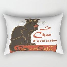 Tournee du Chat Noir D'Armistice Tribute Vector Rectangular Pillow