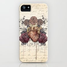 Flowers from my heart Slim Case iPhone (5, 5s)
