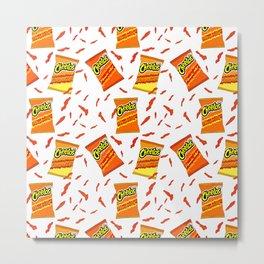 Flamin' Hot Cheetos illustration Metal Print