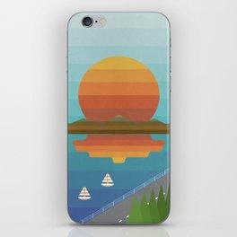 Sunset in Spectrum iPhone Skin