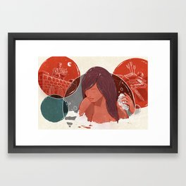 David and Bathsheba Framed Art Print
