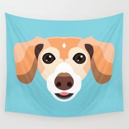 Pet Portrait - Pip Wall Tapestry