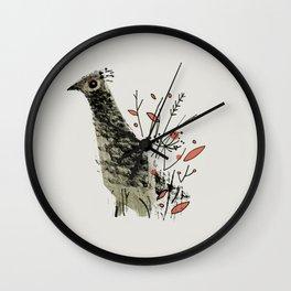 Gamebird Wall Clock